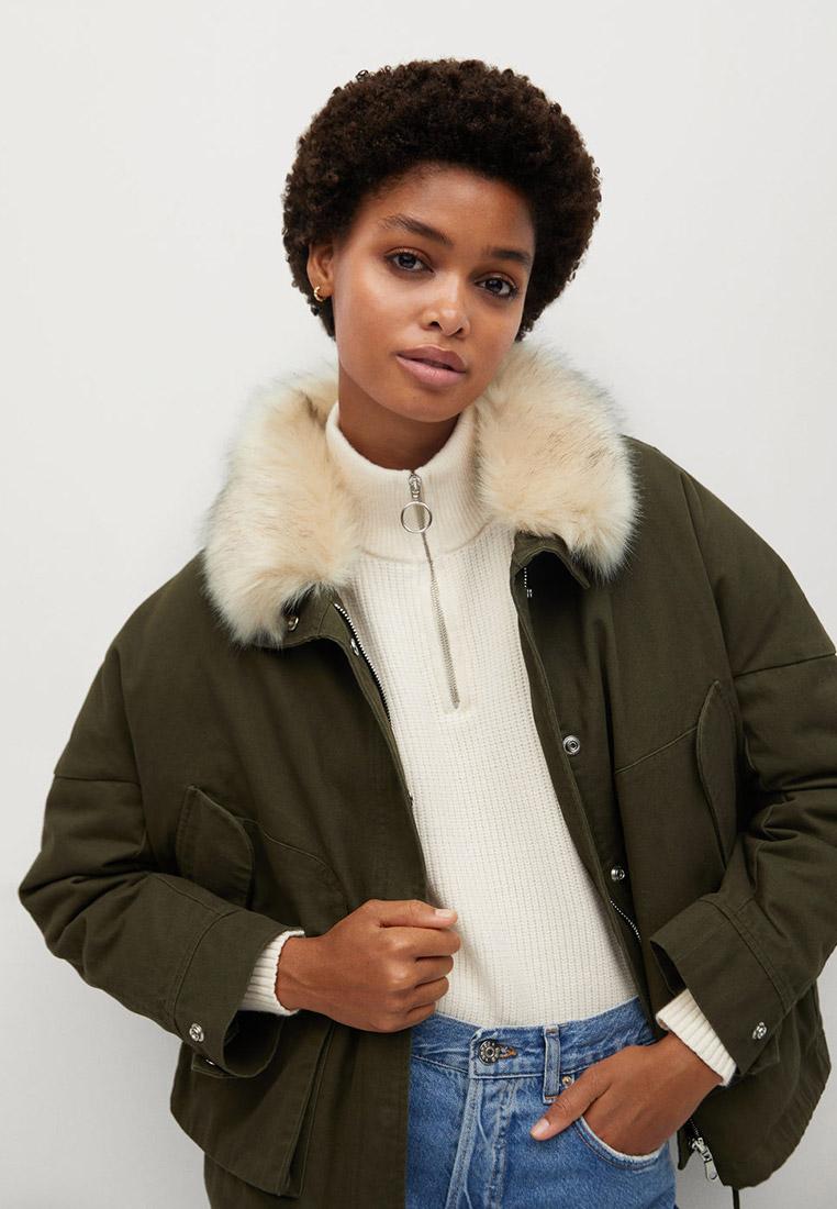 Утепленная куртка Mango (Манго) 77056304