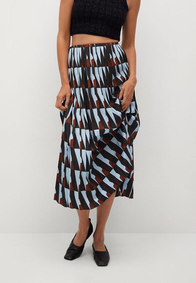 Широкая юбка Mango (Манго) 77097638