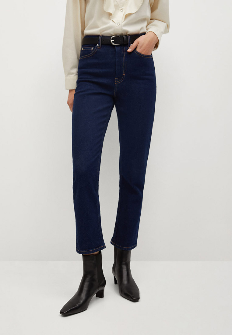 Широкие и расклешенные джинсы Mango (Манго) 77057629