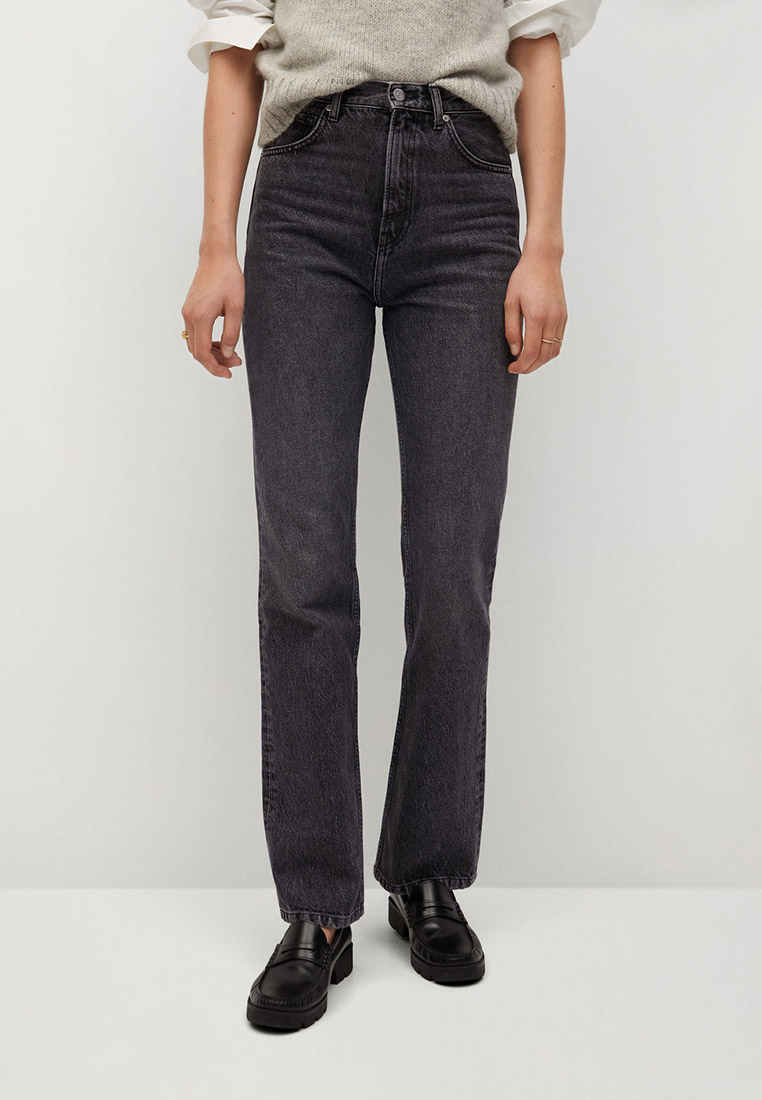 Прямые джинсы Mango (Манго) 77027636