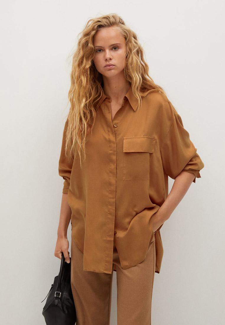 Женские рубашки с длинным рукавом Mango (Манго) 77046711