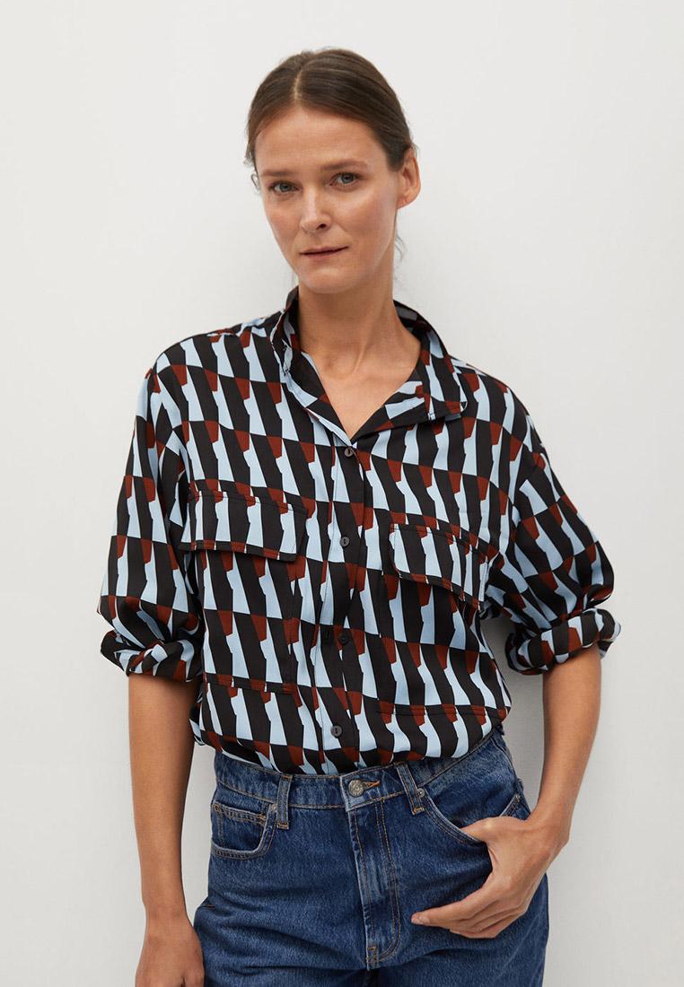 Женские рубашки с длинным рукавом Mango (Манго) 77027639