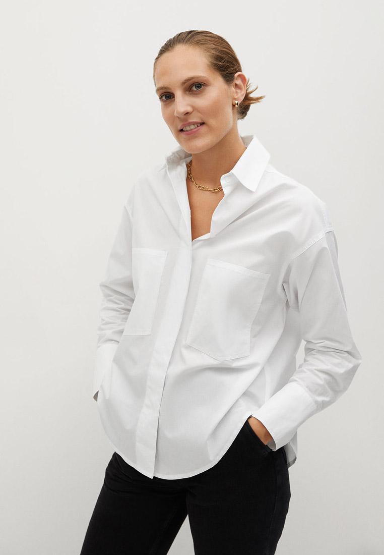 Женские рубашки с длинным рукавом Mango (Манго) 77027641