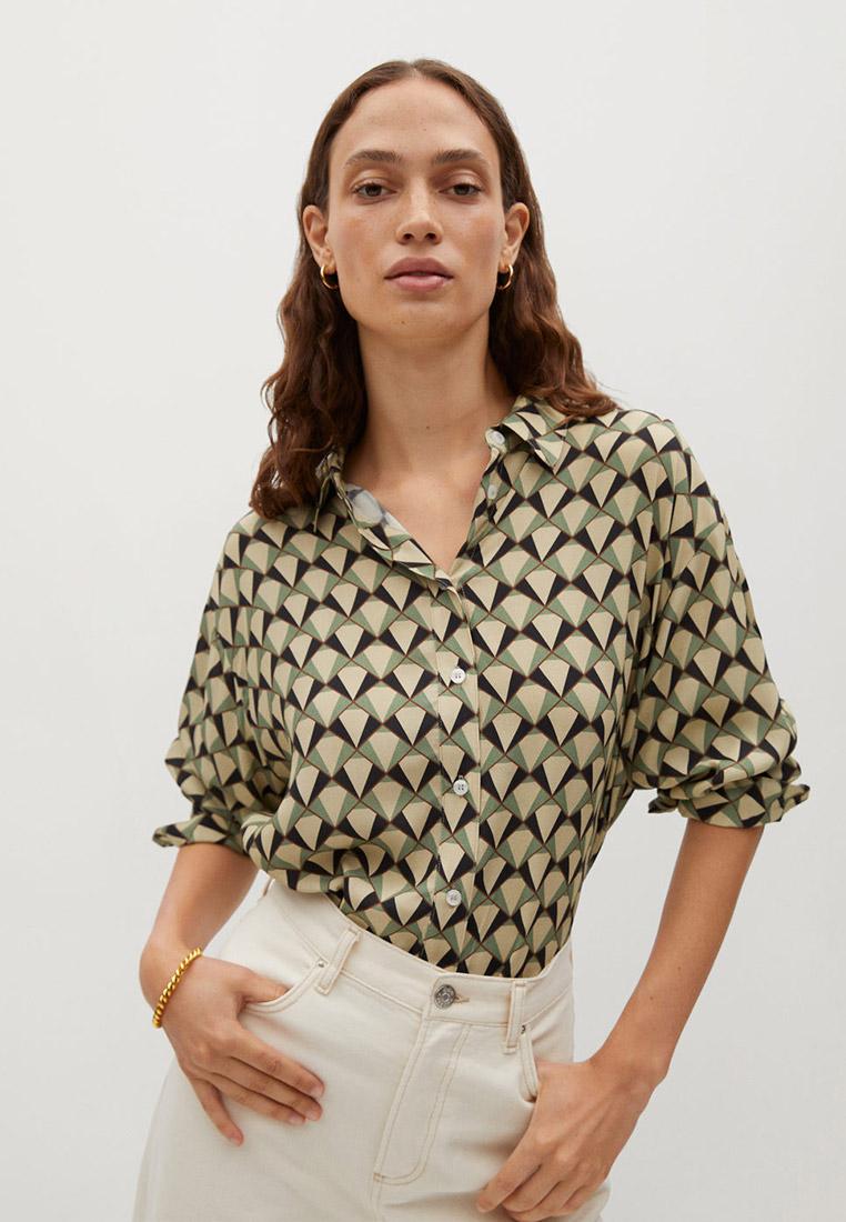 Женские рубашки с длинным рукавом Mango (Манго) 77027642