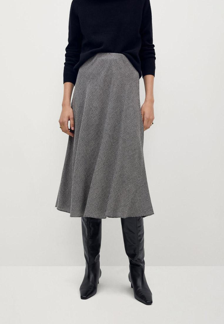 Широкая юбка Mango (Манго) 77057636