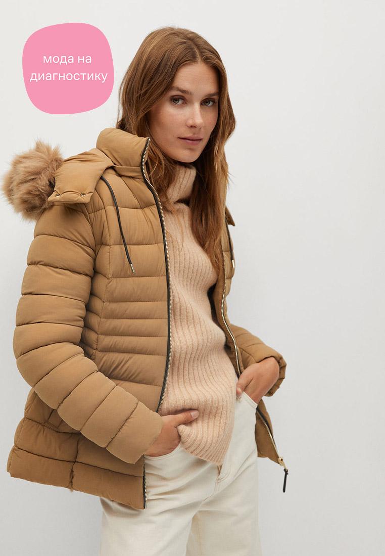Утепленная куртка Mango (Манго) 77055903