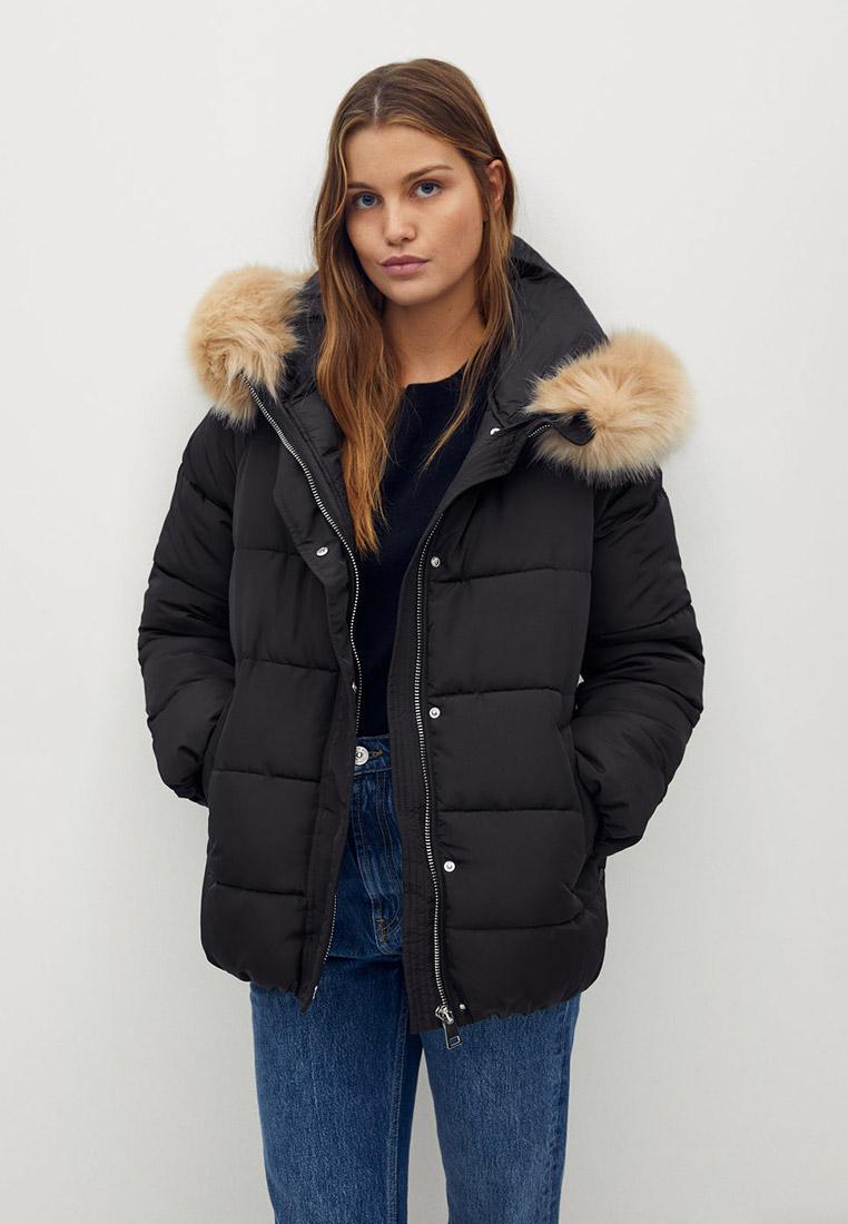 Утепленная куртка Mango (Манго) 77058253