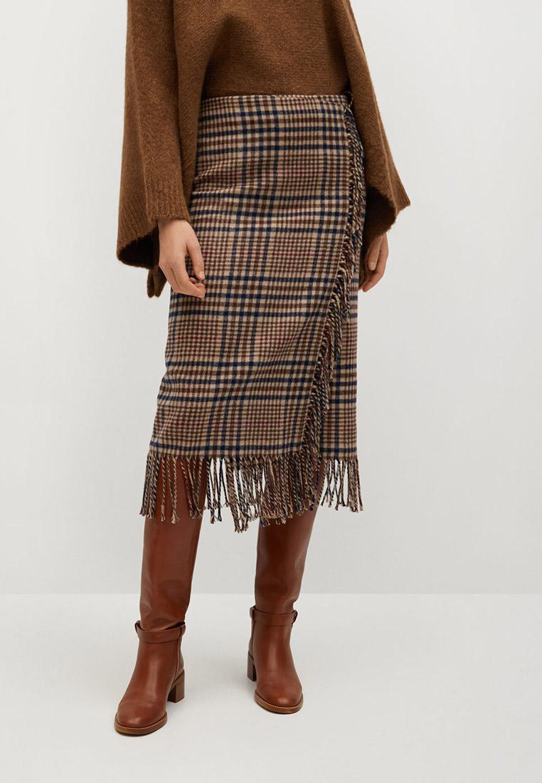 Прямая юбка Mango (Манго) 77069220