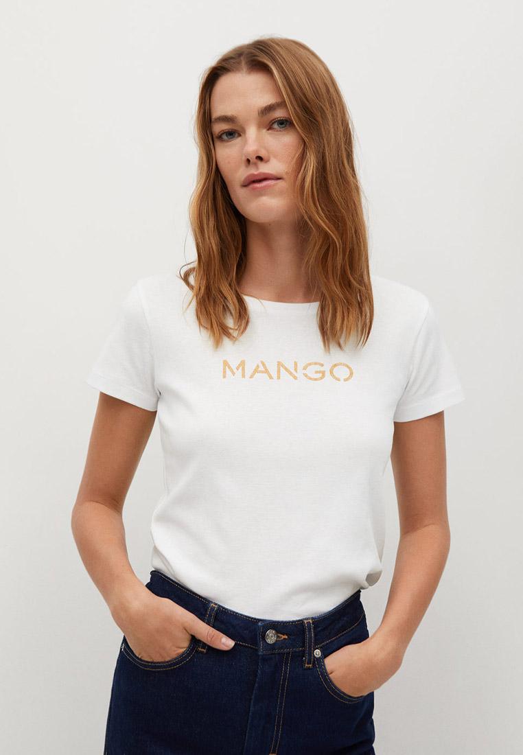 Футболка с коротким рукавом Mango (Манго) 87000557
