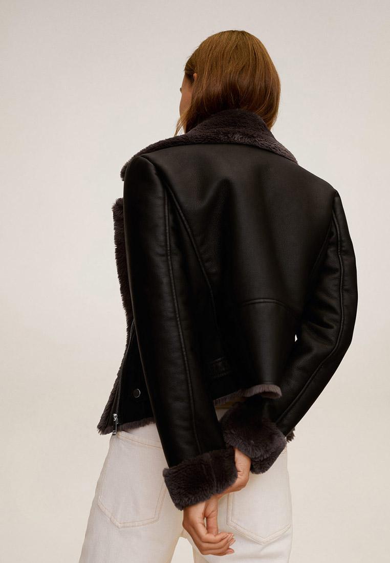 Кожаная куртка Mango (Манго) 87090562: изображение 3