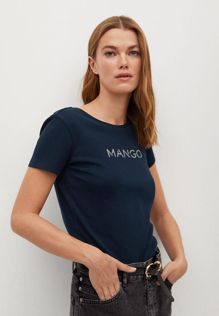 Футболка с коротким рукавом Mango (Манго) 87000551