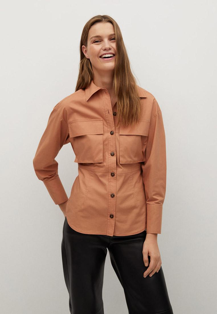 Женские рубашки с длинным рукавом Mango (Манго) 87090534