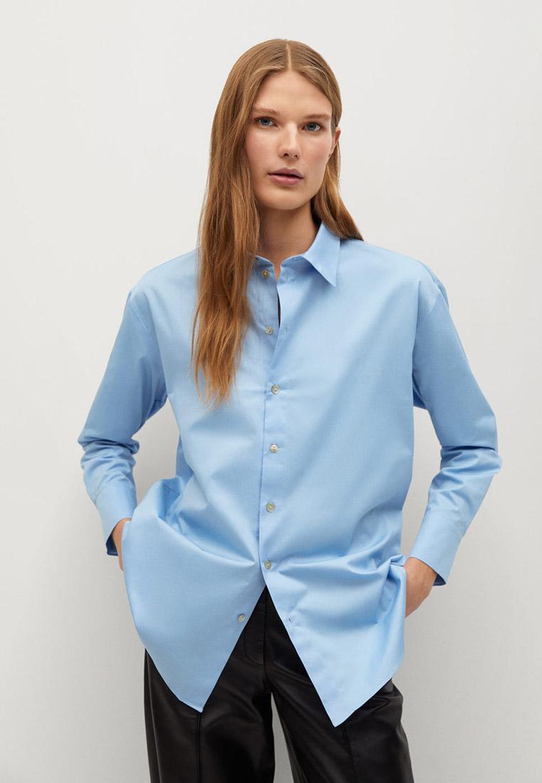 Женские рубашки с длинным рукавом Mango (Манго) 87052526