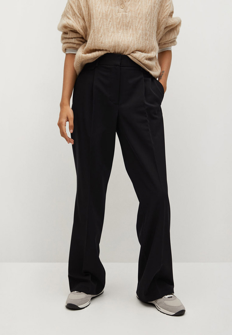 Женские классические брюки Mango (Манго) Брюки с защипами - Pocket