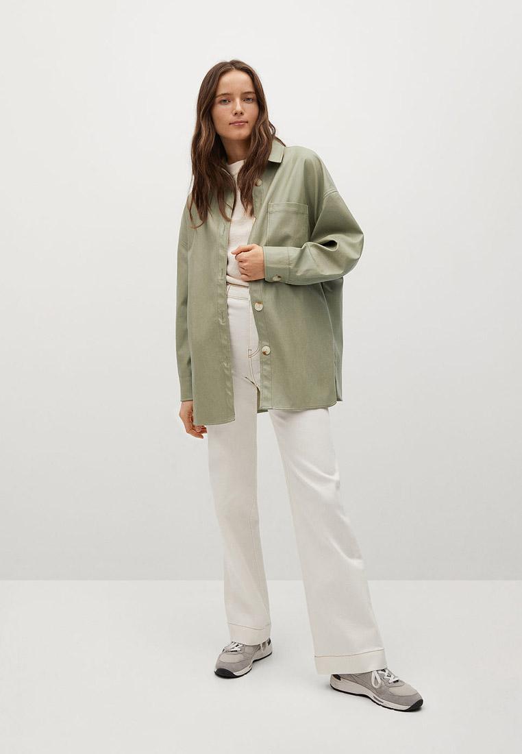 Женские рубашки с длинным рукавом Mango (Манго) 87053258: изображение 2