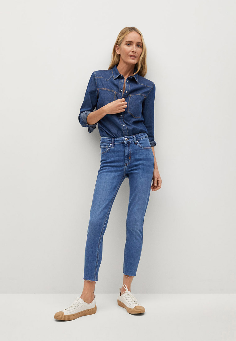 Зауженные джинсы Mango (Манго) 87001025: изображение 2