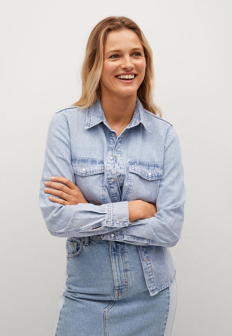 Женские джинсовые рубашки Mango (Манго) 87094043