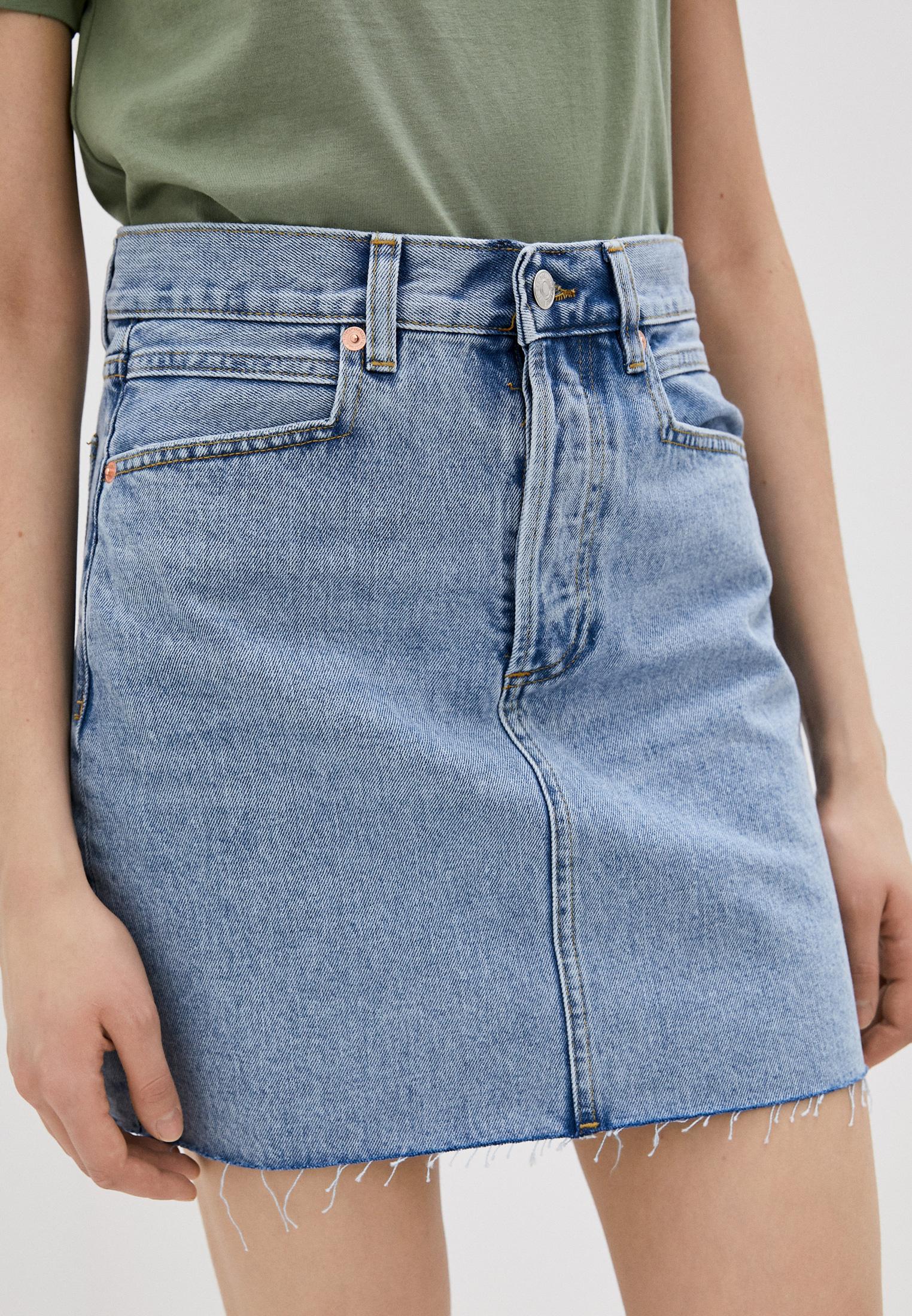 Джинсовая юбка Mango (Манго) 87014019