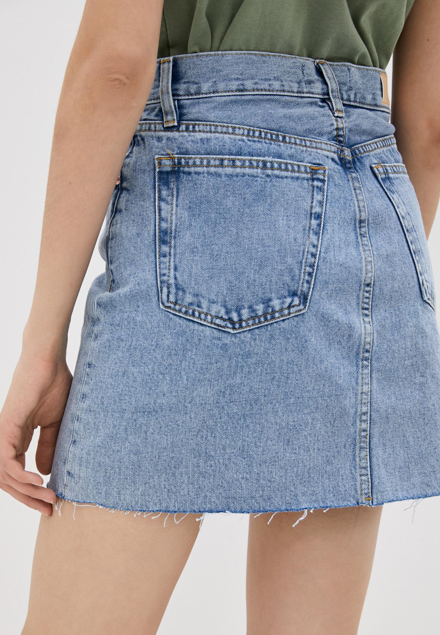 Джинсовая юбка Mango (Манго) 87014019: изображение 3