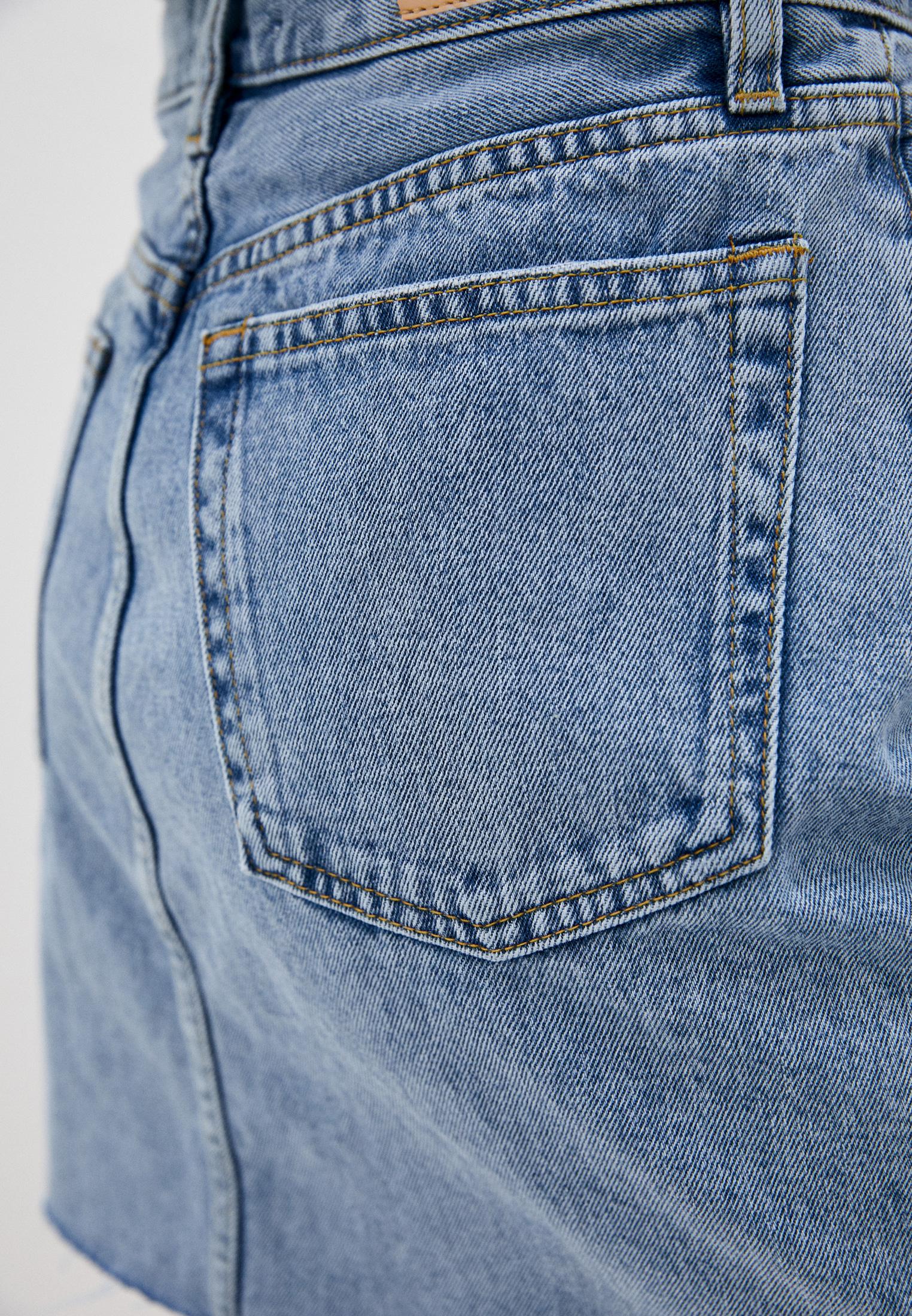 Джинсовая юбка Mango (Манго) 87014019: изображение 4