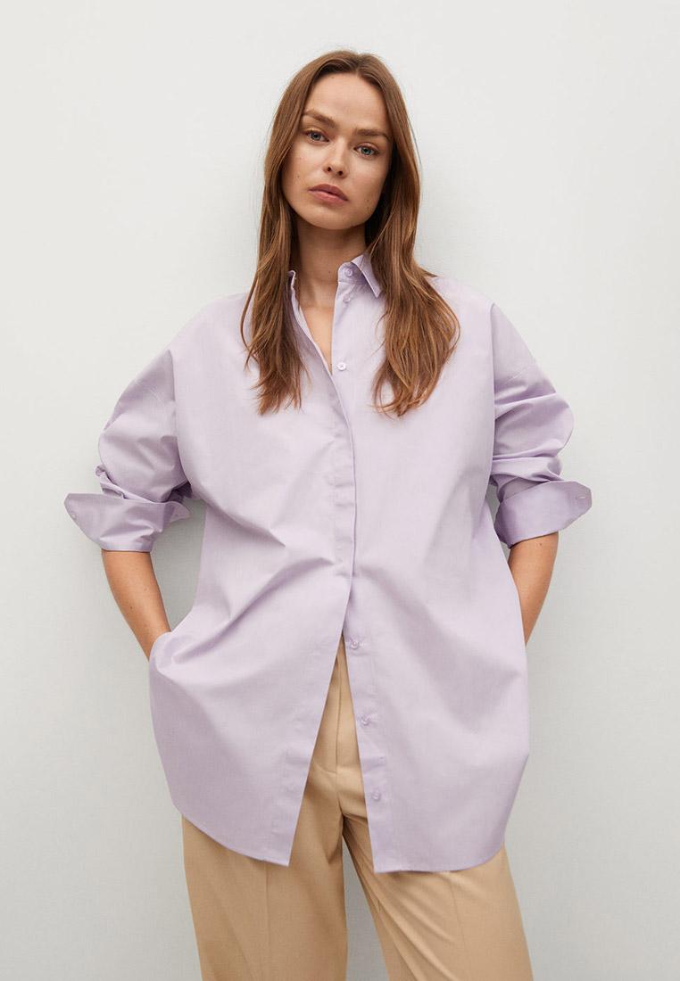 Женские рубашки с длинным рукавом Mango (Манго) 87034025