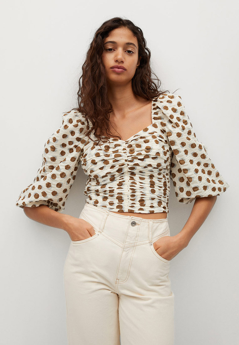 Блуза Mango (Манго) 87035667