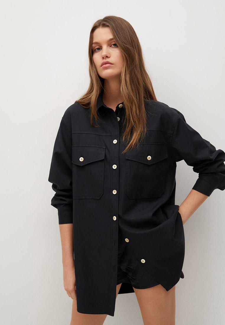 Женские рубашки с длинным рукавом Mango (Манго) 87085661