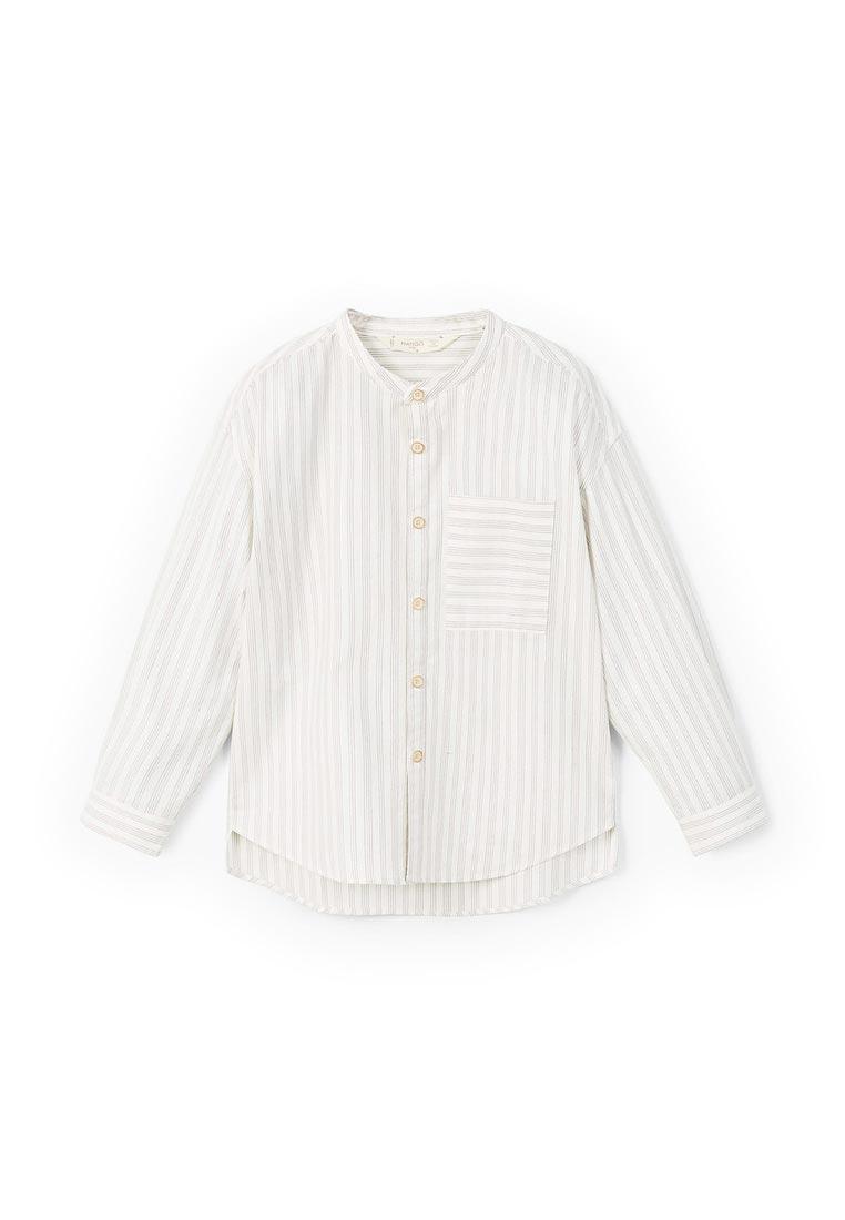 Рубашка Mango Kids (Манго Кидс) 23060663: изображение 1