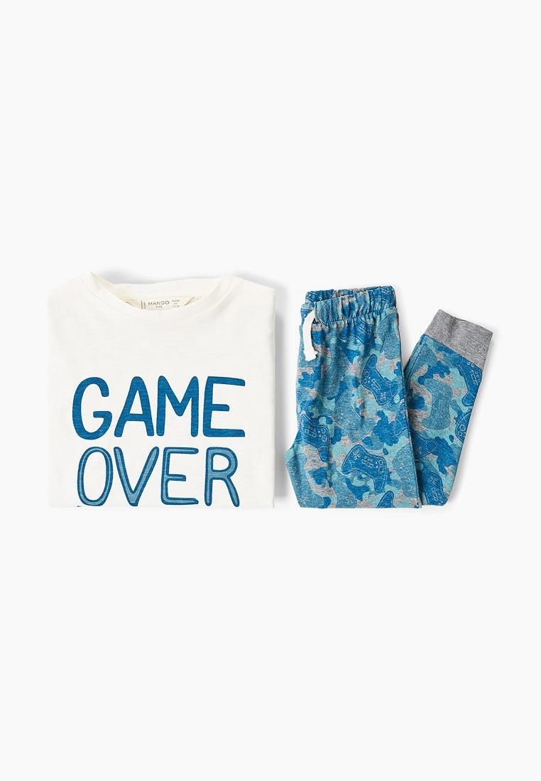 Пижамы для мальчиков Mango Kids (Манго Кидс) 33043022