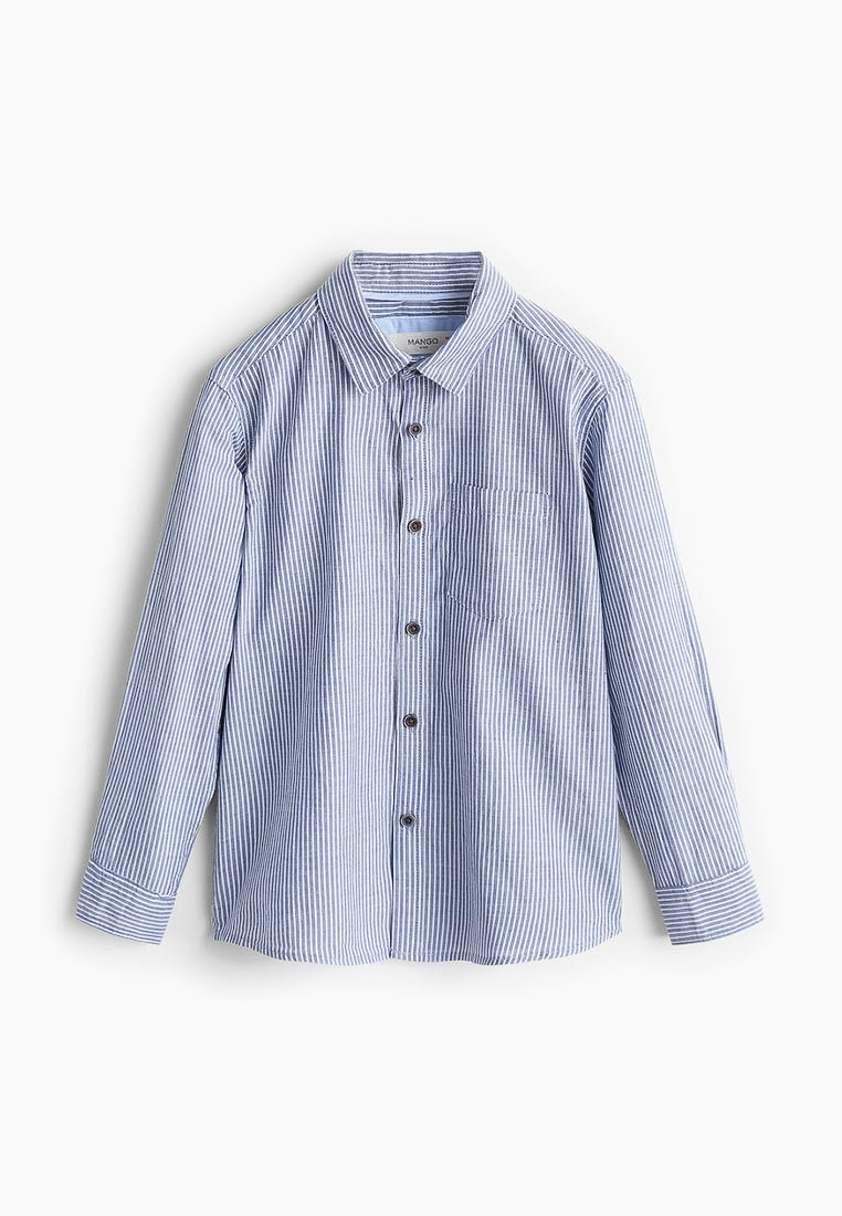 Рубашка Mango Kids (Манго Кидс) 33860623