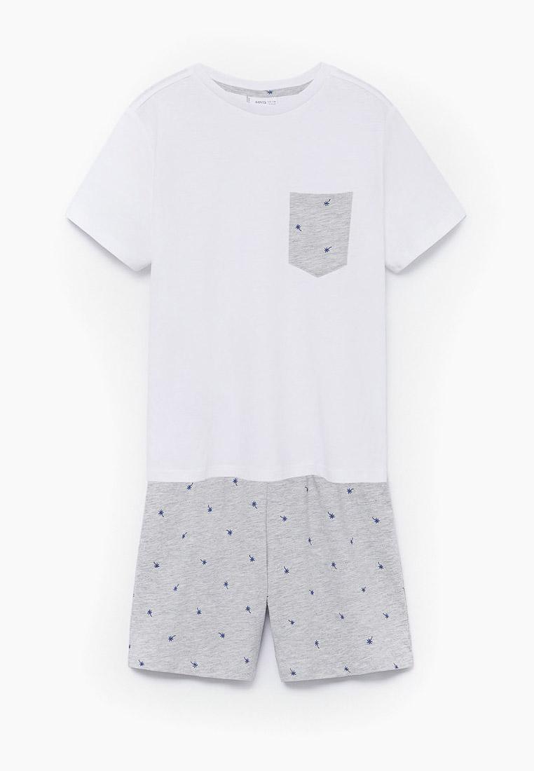Пижамы для мальчиков Mango Kids (Манго Кидс) 87075673