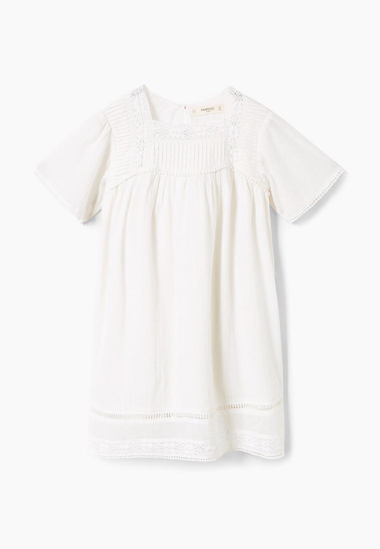 Повседневное платье Mango Kids (Манго Кидс) 33093736