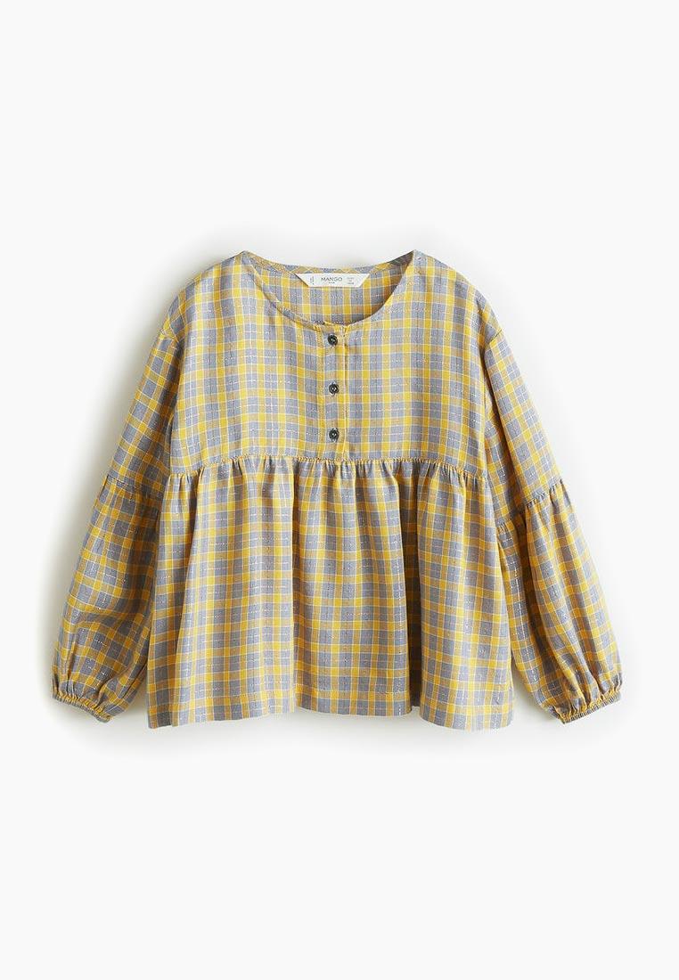 Рубашка Mango Kids (Манго Кидс) 33040866