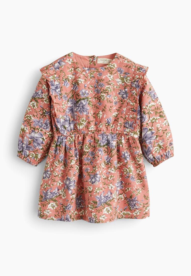 Повседневное платье Mango Kids (Манго Кидс) 33085010