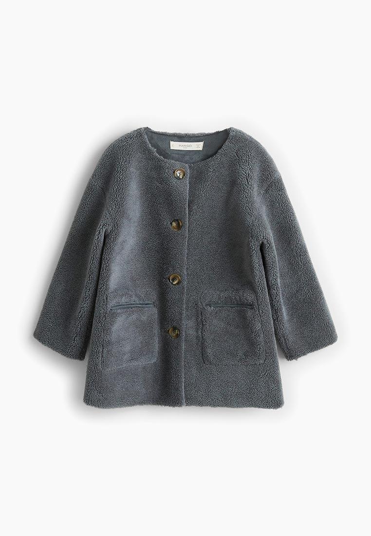 Пальто для девочек Mango Kids (Манго Кидс) 33073733