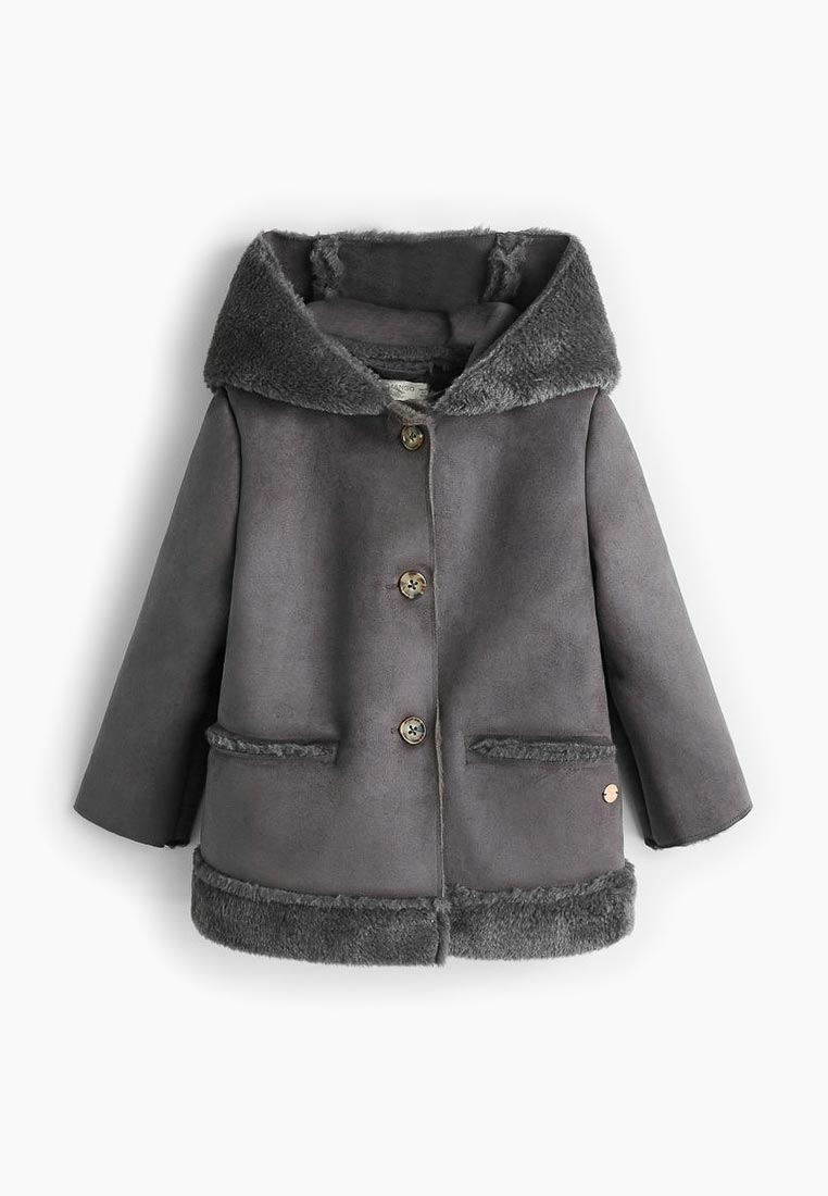 Пальто для девочек Mango Kids (Манго Кидс) 33043746