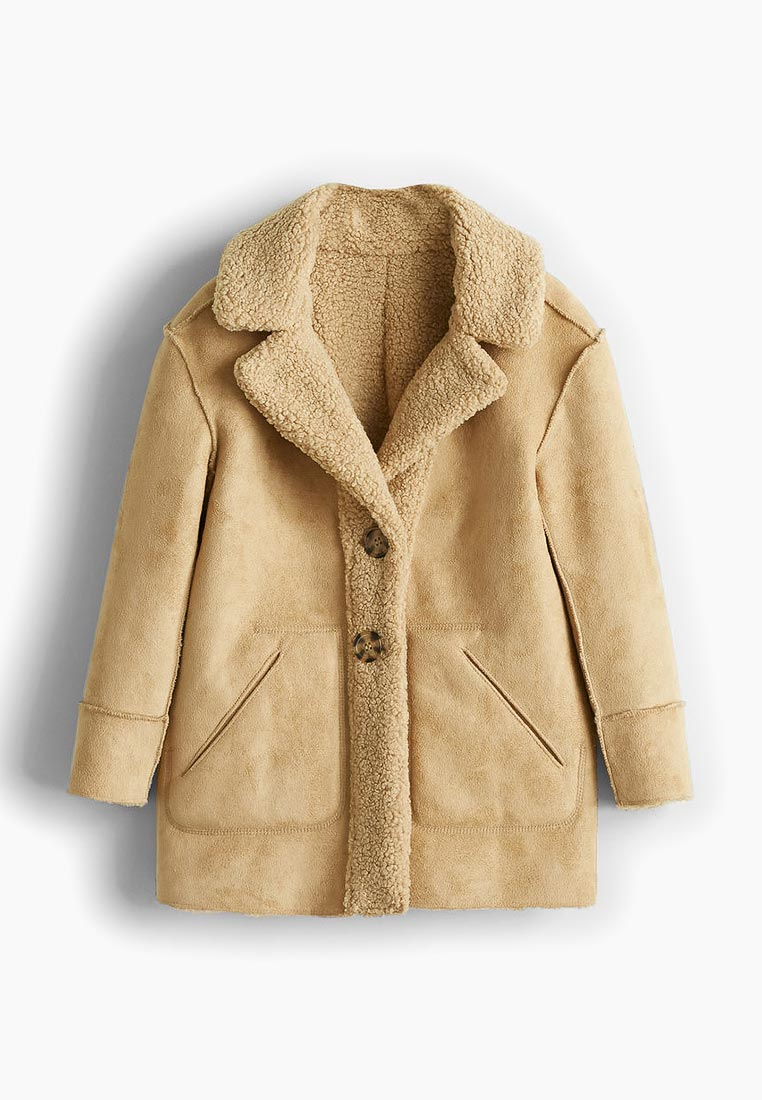 Пальто для девочек Mango Kids (Манго Кидс) 33035719