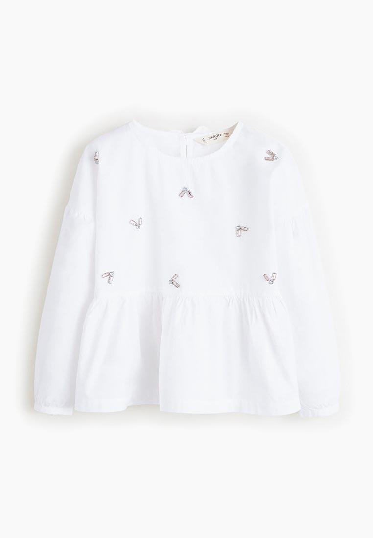 Рубашка Mango Kids (Манго Кидс) 43090476