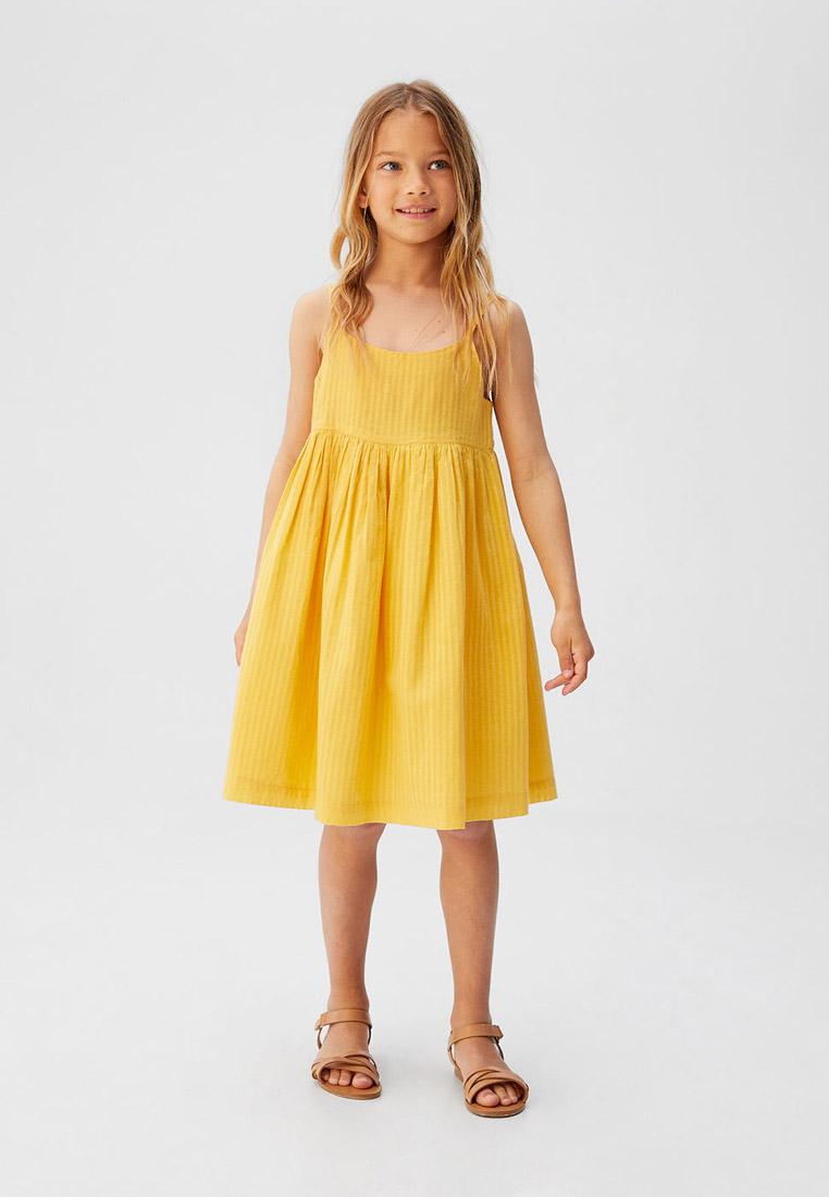 Повседневное платье Mango Kids (Манго Кидс) 53050749