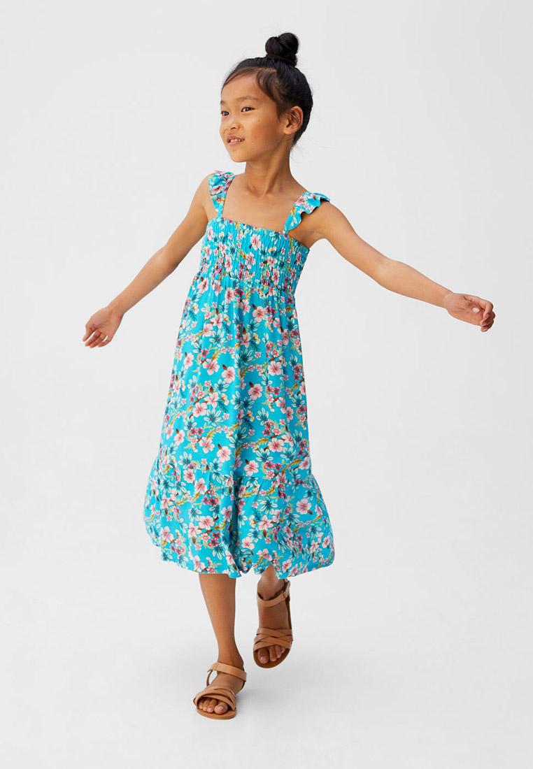 Повседневное платье Mango Kids (Манго Кидс) 53080843