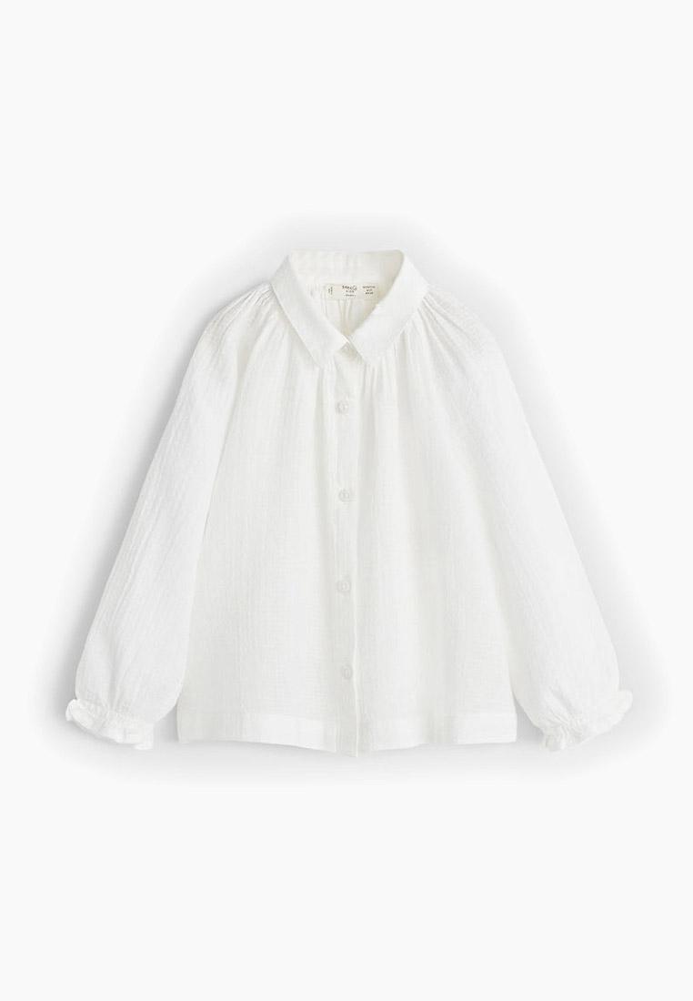 Рубашка Mango Kids (Манго Кидс) 53063773