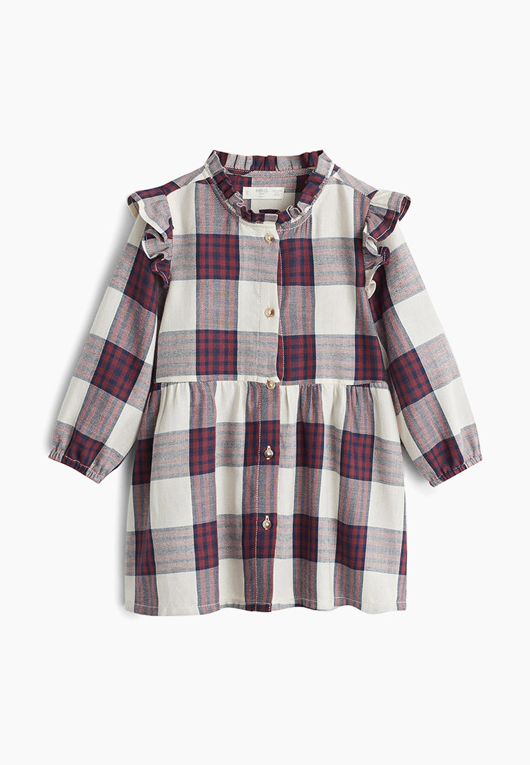 Повседневное платье Mango Kids (Манго Кидс) 53005025