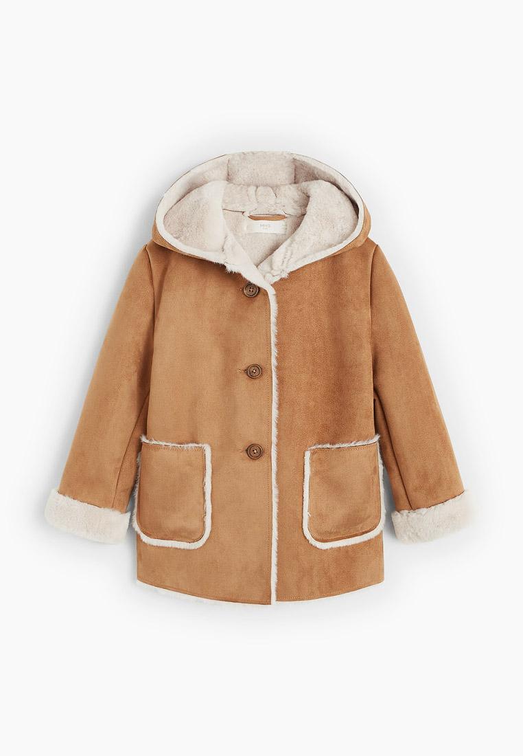Пальто для девочек Mango Kids (Манго Кидс) 53015730