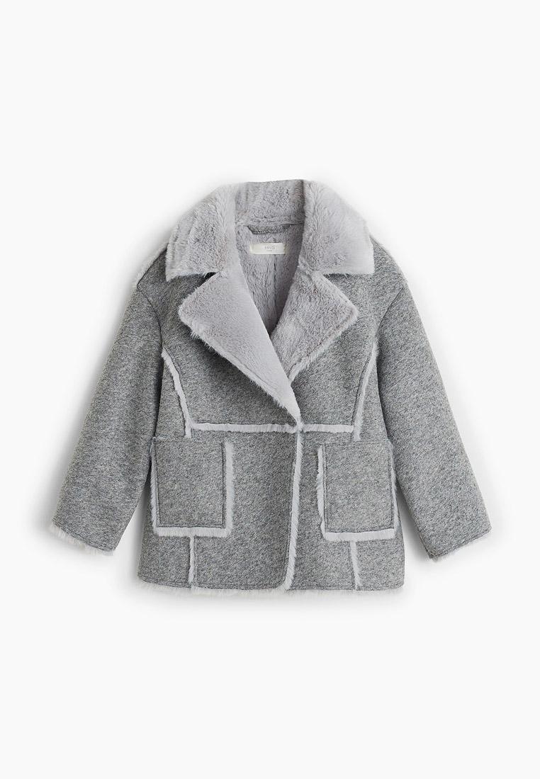 Пальто для девочек Mango Kids (Манго Кидс) 53087674