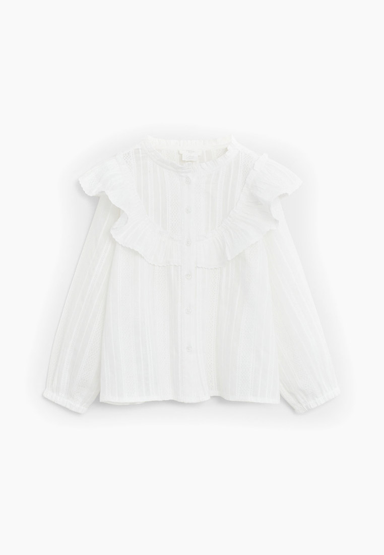 Рубашка Mango Kids (Манго Кидс) 67034008