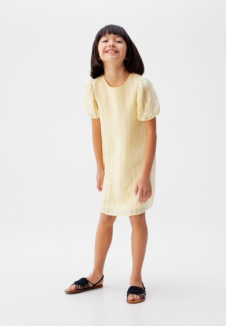 Повседневное платье Mango Kids (Манго Кидс) 67025725