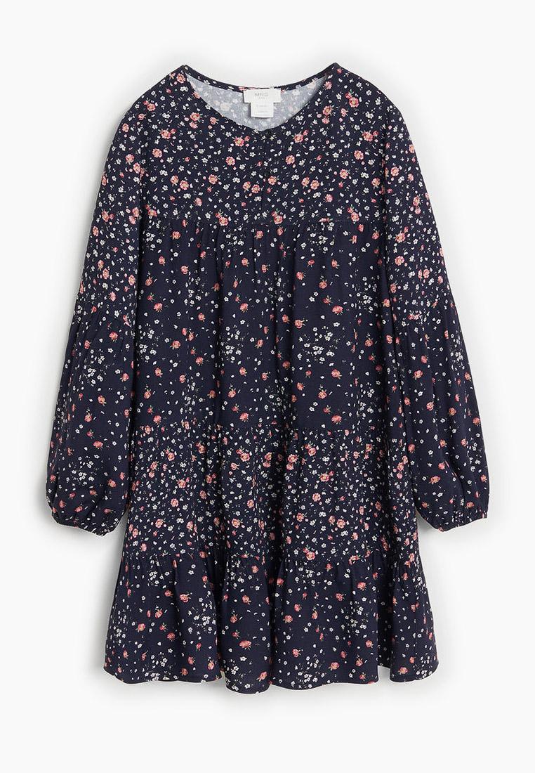 Повседневное платье Mango Kids (Манго Кидс) 67044010