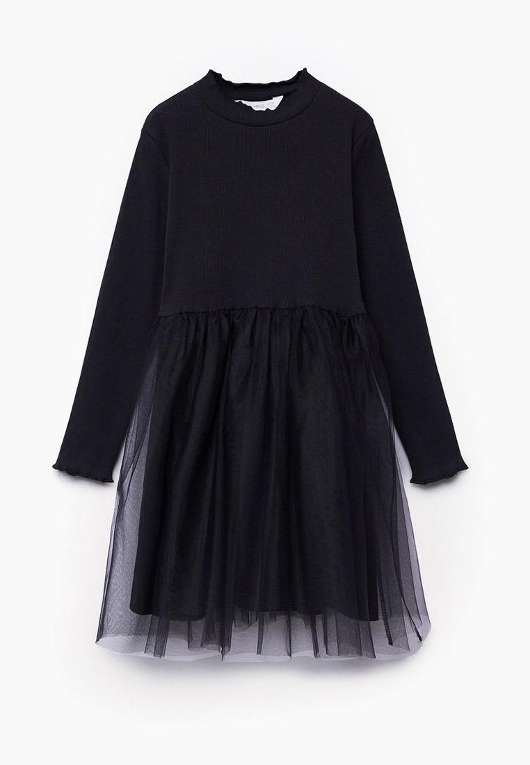 Повседневное платье Mango Kids (Манго Кидс) 77095934