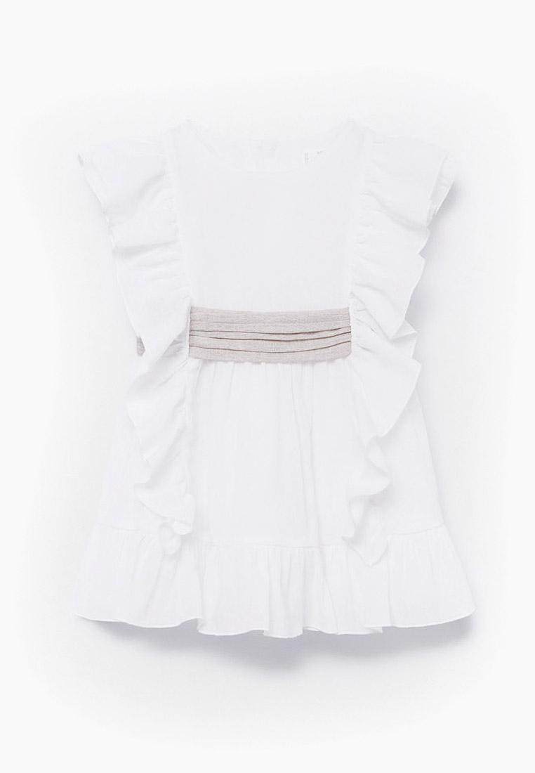 Нарядное платье Mango Kids (Манго Кидс) 87044059