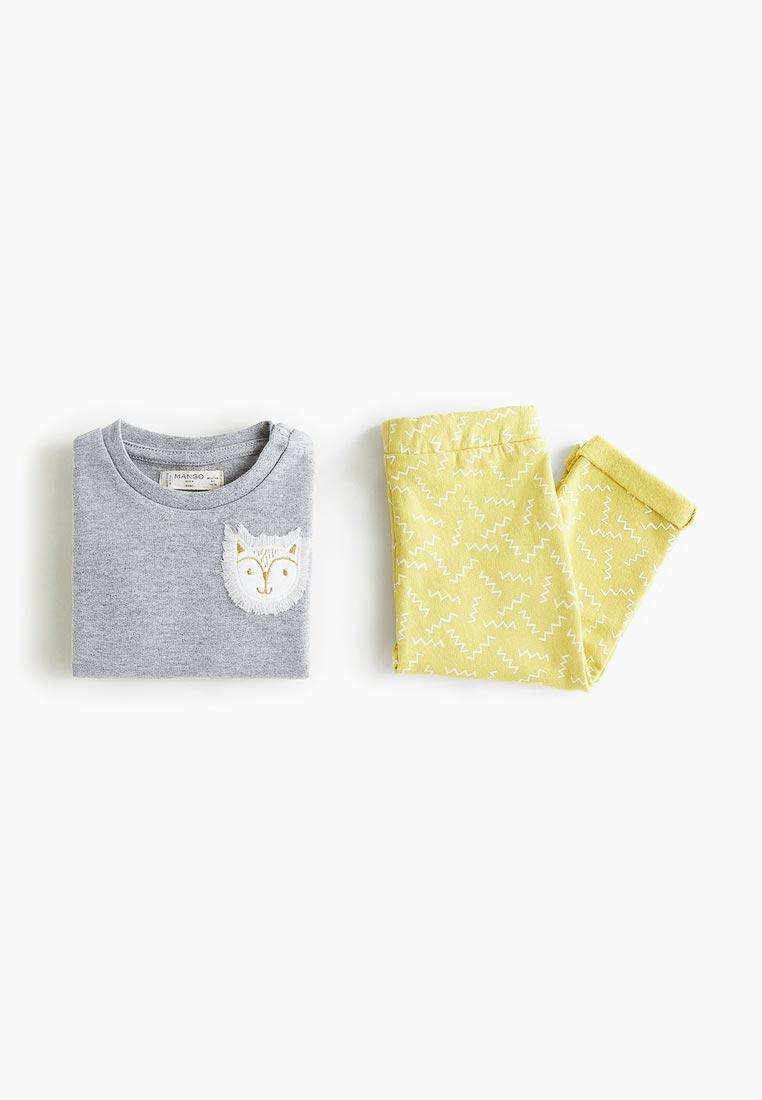 Пижамы для мальчиков Mango Kids (Манго Кидс) 33083757
